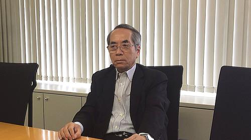 松本さんインタビュー中